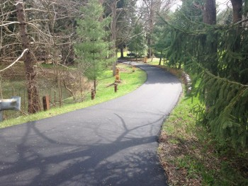 Residential asphalt paving April 2015 Ligonier, PA