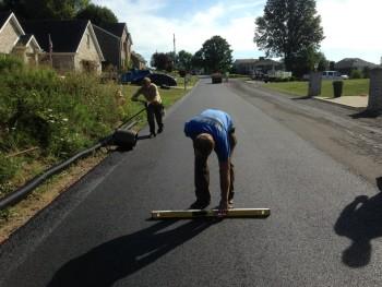 Asphalt paving for township streets McKeesport, PA