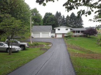 Residential Asphalt Paving Project Mt Pleasant PA