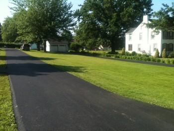 Residential asphalt driveway paving New Alexandria, PA