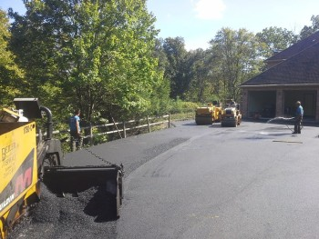 New Kensington PA residential asphalt paving project