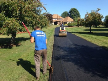 Residential Paving Project in Ruffs Dale PA Sept 2015