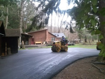 Residential Asphalt Paving Project Westmoreland County in April 2015